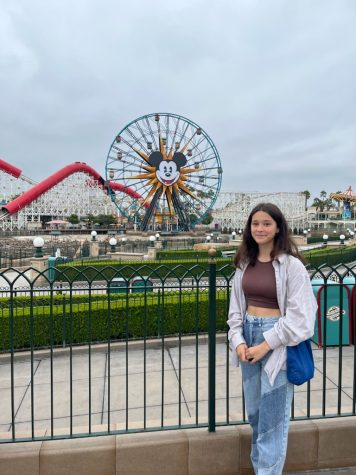 Ronja Sesterhenn, a junior foreign exchange student from Germany, visits Disneyland for the first time with her host family.