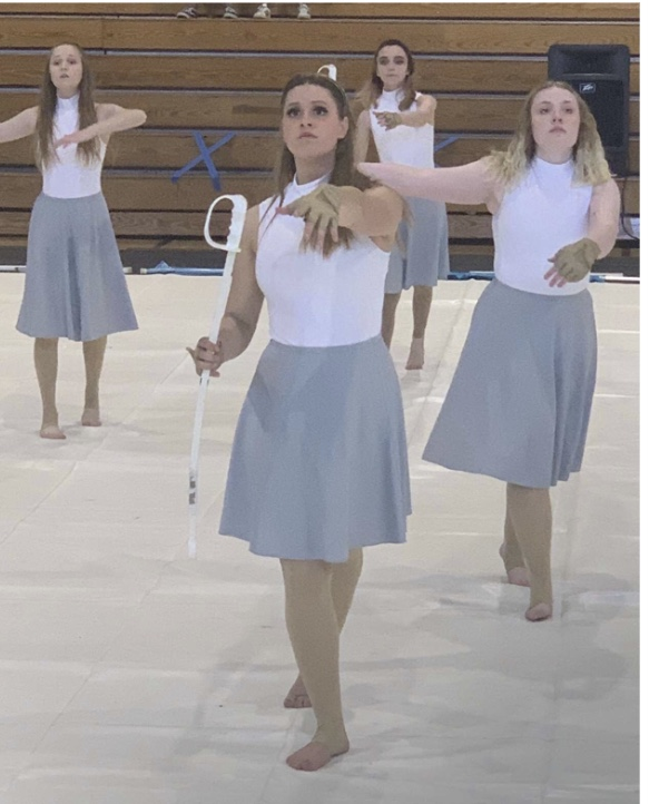 PVHS Color Guard Positively Contributes to Viking Spirit